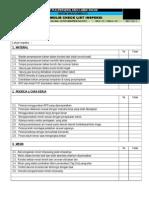 07. Form Check List Inspeksi a4 Ok