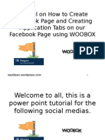 Tutorial on How to Create Facebook Page and Creating Application Tabs on our Facebook Page using WOOBOX.pptx