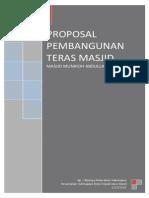 Proposal Pembangunan Teras Masjid