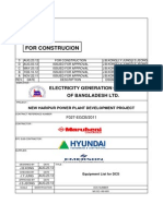 Bill of Material DCS Equipment List MC-DC-I-80-I001