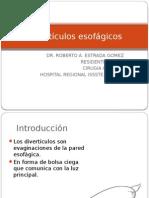 diverticulos esofagicos1