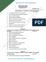 2nd PU Business Studies Model QP 1