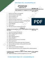 2nd PU Business Studies Model QP 3