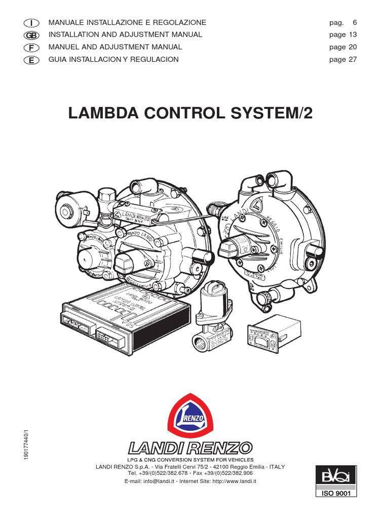 lcs 2 ita gb fra spa rh scribd com Bay Tech Landi Renzo CNG Conversion Landi Renzo Spa