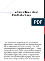 Things You Should Know about Child Labor Laws