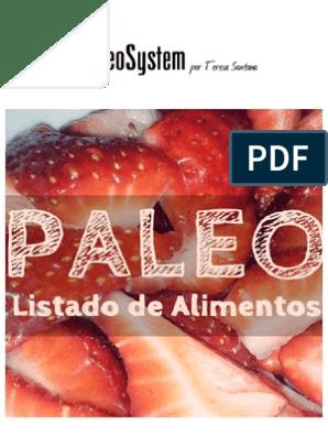 Descargar pdf la dieta paleolitica en espanol
