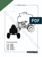 WheelHorse Tr 1977 B-c-series Om 810001r1