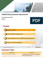 ERAN6.0 Documentation Improvements