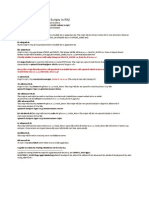 Application Tier Scripts