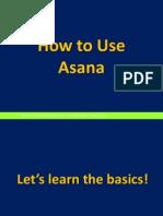 How to Use Asana