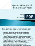 Analisa Laporan Keuangan & Pemeriksaan Pajak.ppt
