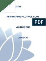 Aus NSW Marine Pilotage Code Vol 1 2011
