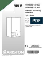 Ariston Microgenius II 28 MFFI manual