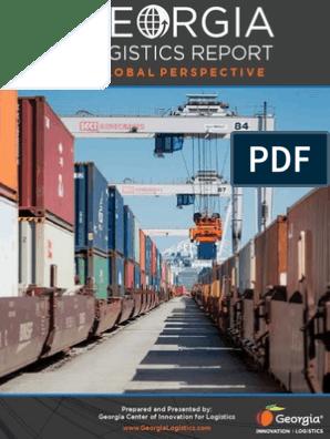 2013 Georgia Logistics Report Tonnage Panama Canal