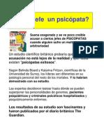 JEFES PSICOPATAS