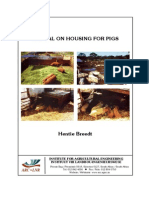 Manual on Housing for Pigs
