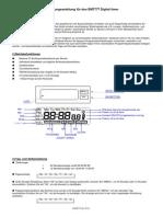 Programmable Digital Timer EMT777 Manual (G)