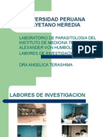 laboratorio de parasitologia