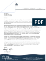Cleft Palate Foundation Letter