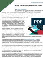 Revistapueblos.org-Pueblos 64 Enero de 2015 Feminismo Para Otro Mundo Posible