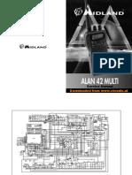 ServiceManual Midland-Alan 42 Multi