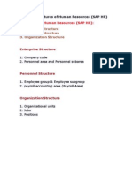 Personnel Administration Configuration