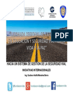 Gestion de La Seguridad Vial