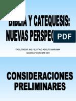 Biblia y Catequesis.