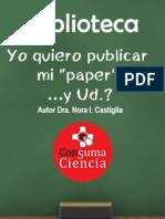Yo Quiero Publicar Mi Paper y Ud