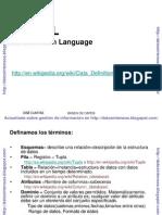 Lenguaje Definicion Datos SQL DDL