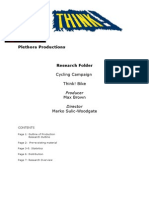 Research - Cycling Campaign