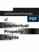Manual IP Law Enforcement & Prosecution