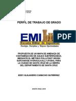 Perfil de Trabajo de Grado EMI