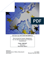 European Decomissioning Document