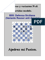 28-B55 - Defensa Siciliana (Variante Rauser Anti Dragón) (2)