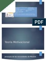 Teoría de Motivación y grupos
