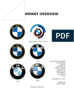Bmw Company Summary