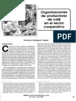 Organizaciones de Productores de Café en El Sector Cooperativo-Francisco Rodríguez Vargas