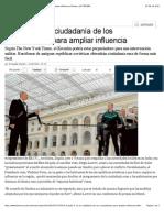 Putin facilita la ciudadanía de los rusoparlantes para ampliar influencia   Mundo   LA TERCERA
