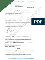 2nd PU Chemistry Model QP 3