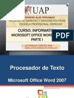 6. Microsoft Office 2007 Parte - 2015