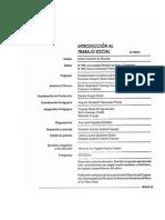 Libro Introduccion Al Trabajo Social, I Semestre. 1-56