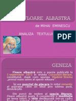 FLOARE ALBASTRA.ppt