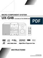 JVC UX-G48 Micro Component System