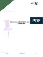 Procedimiento Actualizacin Modem X3