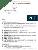 Resumo Esquemático de Direito Processual do Trabalho _ Portal Jurídico Investidura - Direito.pdf