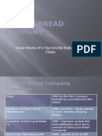 Panera Bread Company Overview