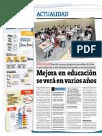 Informe del diario Perú 21 sobre Educación