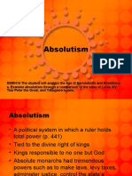 absolutism wh14a