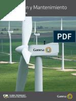 Catalogo de Servicios de GAMESA, energía eólica